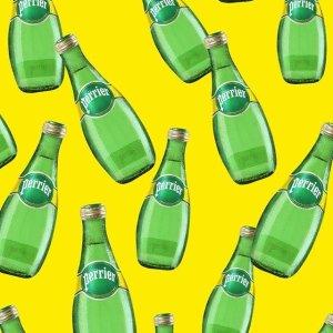 $5.97(原价$8.99)史低价:Perrier 气泡矿泉水 巴黎水 1升×6瓶装 (青柠味)