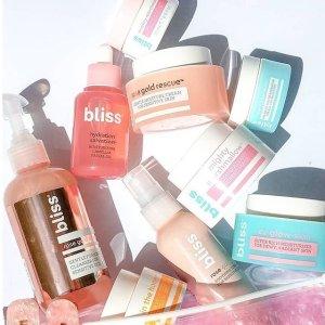 全场买2送1 $14.4收收纤体紧肤霜最后一天:Bliss 护肤、洗护产品热卖 给肌肤五星级SPA享受