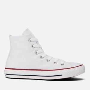 Converse3/8/9/10/11码白色经典高帮帆布鞋