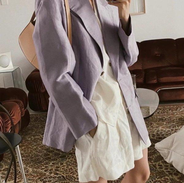 香芋紫西装