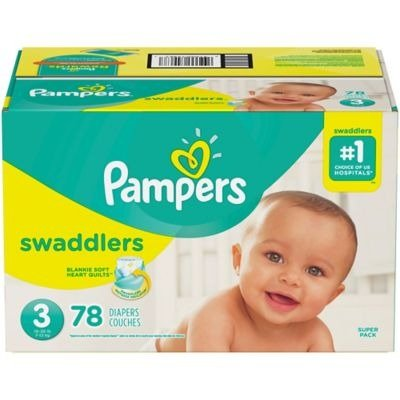 Swaddlers™ 78片 Size 3 尿布
