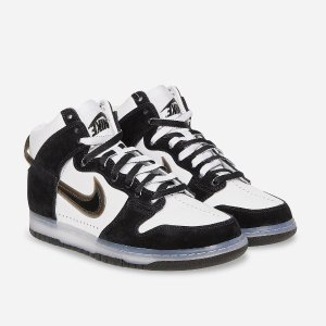 "30号 美东10点整 $120+包邮预告:Dunk High x Slam Jam 合作款 ""Clear Black"