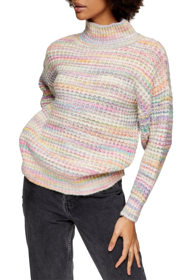 Space Dye Chunky 毛衣