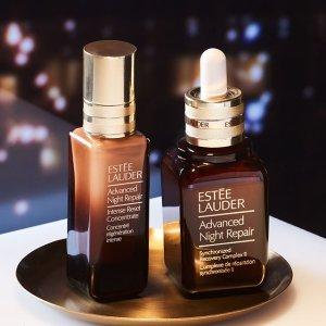 低至8折最后一天:Estee Lauder 雅诗兰黛美妆护肤品热卖 收升级版小棕瓶