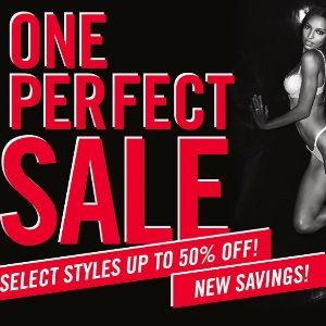 Up to 50% OffOne Perfect Sale @ Victoria's Secret