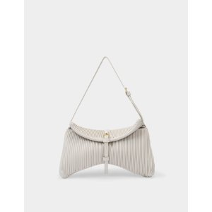 DeMellier LondonTokyo Bag in Off White Leather
