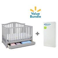 Graco Solano 4合1 婴儿床 + 床垫