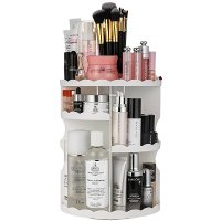 Jerrybox 360度 可旋转化妆品收纳盒