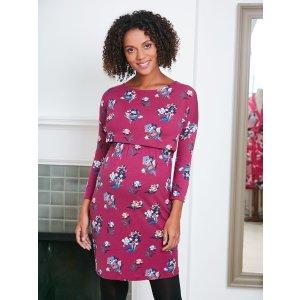 1a83a46a7bc64 JoJo Maman BebeFloral Drop Shoulder Maternity & Nursing Tunic Dress. $16.00  $79.00. JoJo Maman Bebe Floral ...