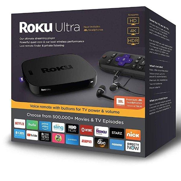 Ultra 4K HDR 流媒体播放器 送JBL配套高保真耳机