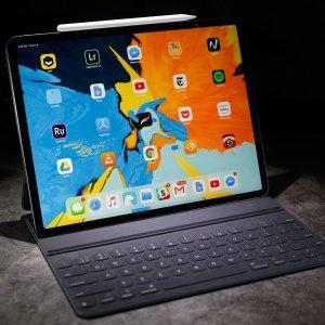 最高立减$100, 部分州无税, $729起2018新款 iPad Pro 11吋/12.9吋 全面屏, Face ID
