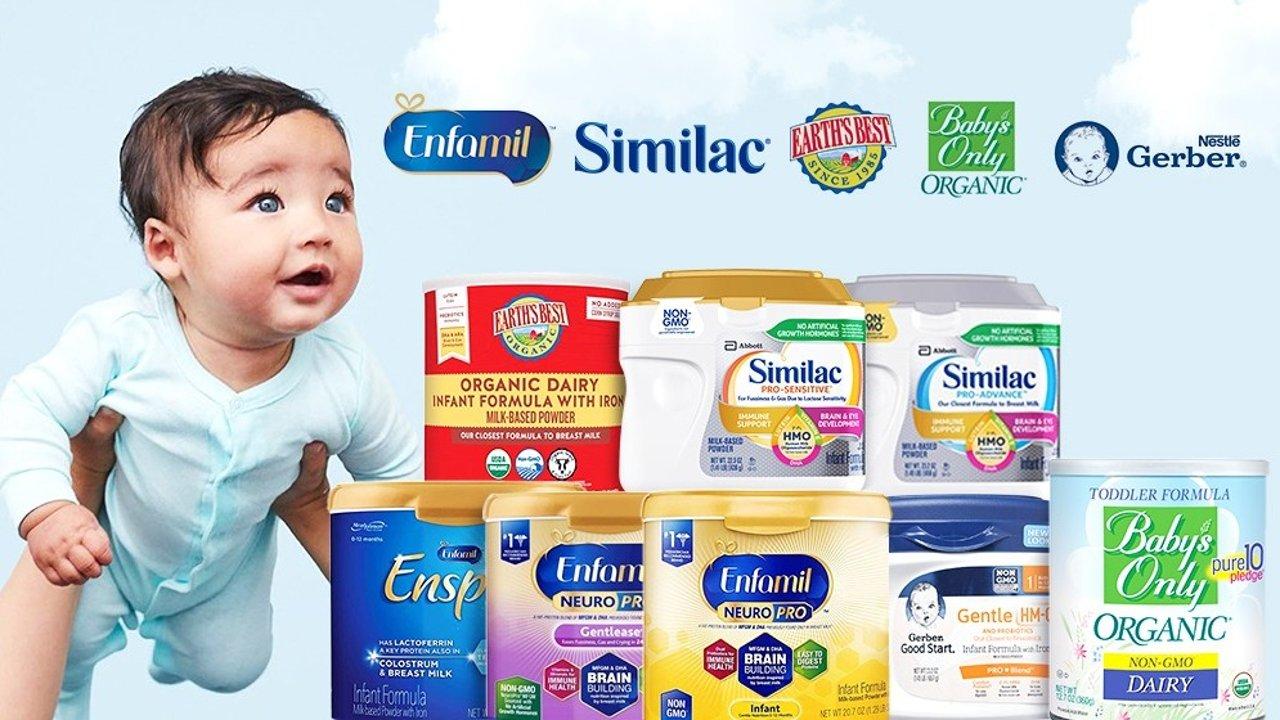 婴儿奶粉/配方奶科普   奶粉什么牌子好?水奶和奶粉有什么区别?爸爸妈妈看这一篇就够了!