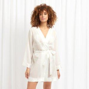 Chiffon Kimono Ivory