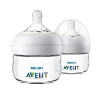 Philips Avent  婴幼儿宽口防胀气奶瓶,2盎司*2