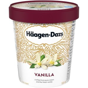 Haagen-Dazs 哈根达斯冰淇淋 香草口味