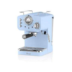 Swan浓缩咖啡机 天蓝色