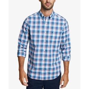 一律$15.96白菜价:Nautica 男款休闲衬衫超低价热卖