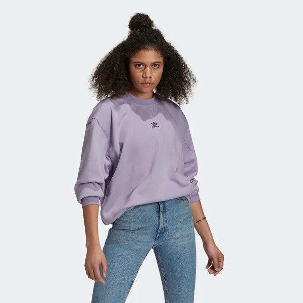 新款香芋紫卫衣