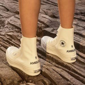 美国东部时间10月18日 10PM 等你来抢预告:AMBUSH x Converse 黑白运动机能风合作款潮鞋新发售