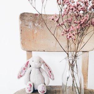 限时精选8折 £8起Jellycat 毛绒玩具热卖 软软的萌兔子