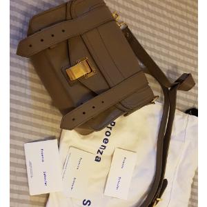 封面款斜挎包mini PS1 6折到手537欧免邮 全球直邮Proenza Schouler 非星标全场6折 简直太划算