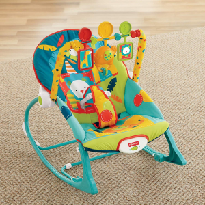 $26.09Fisher-Price Infant-to-Toddler Rocker, Dark Safari