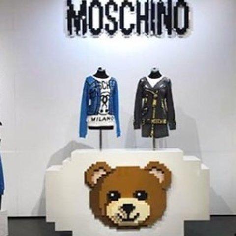 低至4.2折 £40收全羊毛小熊logo围巾Moschino 精选围巾、丝巾清仓折上折 不能错过的好折扣