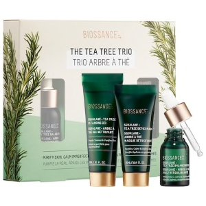 $29 舒缓肌肤好帮手上新:Biossance 绿茶护肤3件套热卖