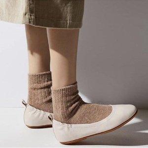 低至4折FitFlop 精选美鞋大促 封面松紧单鞋$50