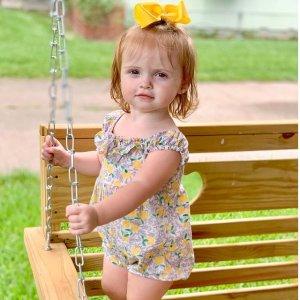 低至5折+低至额外7.2折First Impressions 婴幼儿宝藏品牌 $4.9收印花连衣裙、爬服