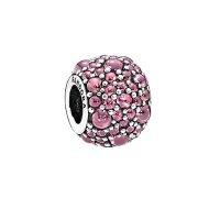 Pandora Shimmering Droplet Silver 串珠