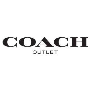 额外8.5折 刺绣雏菊系列上新Coach Outlet 亲友特卖会 老花盒子包补货$160,奶茶水桶包$127