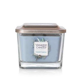 $8Yankee Candle 中号方形带盖香氛蜡烛 清新松柏味