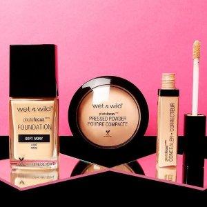 Up to $15 OffWet N' Wild Makeup