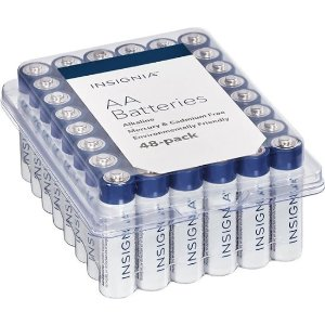 InsigniaFree shippingAA Batteries (48-Pack)