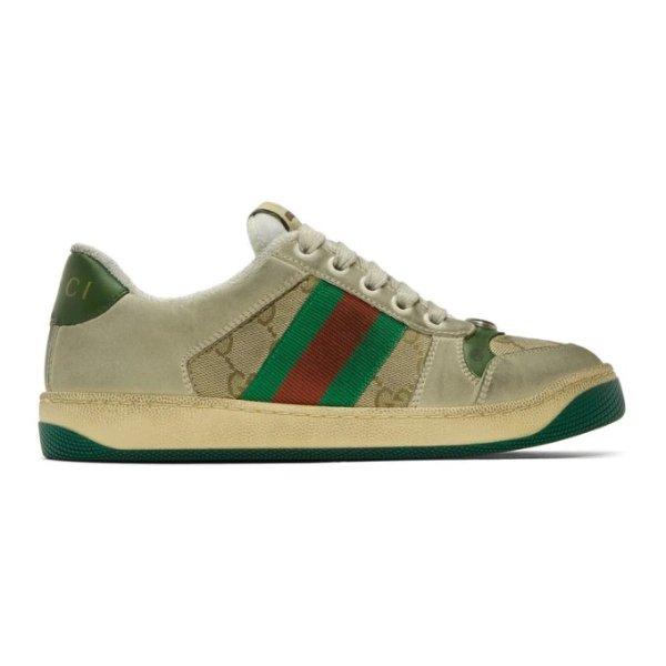 绿色脏脏鞋