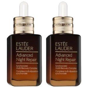 Estee Lauder价值 $210ANR 第7代小棕瓶 双瓶装