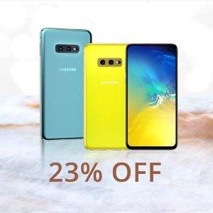 $499 (原价$649)Samsung Galaxy S10e 128GB 智能手机 解锁版 国际版