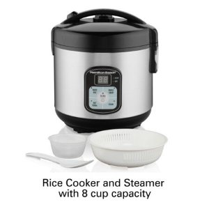 $20Hamilton Beach 8-Cup Rice Cooker and Steamer
