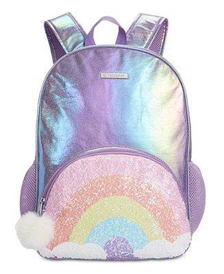 彩虹女童背包