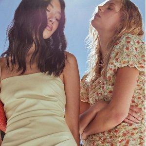 低至2折+额外7.5折 浪漫一夏最后一天:Nordstrom Rack 美裙专场,小清新、御姐风超多款$16起