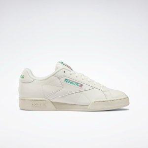Reebok平底小白鞋