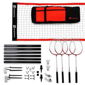 MD Sports 羽毛球球拍、球网等配件套装超好价