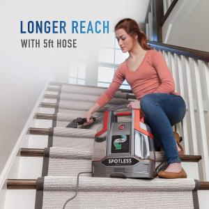 $89.99(原价$135.98)Hoover FH11300PC 轻便式地毯吸尘、清洁机,掰掰尘螨