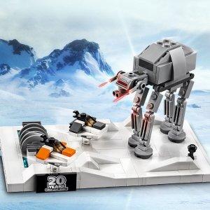促销+送封面套装+双倍积分预告:LEGO官网 星战日暨20周年热卖即将开始