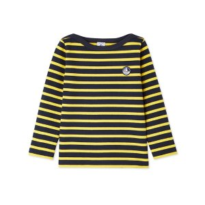 Petit Bateau男童条纹上衣