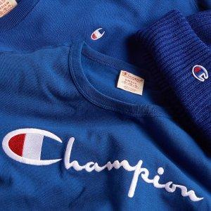 低至6折 $9.97收大童款T恤Champion 服饰专场 T恤、卫衣都有
