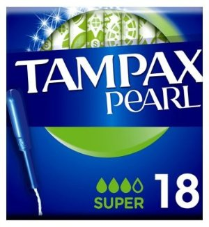 Tampax 珍珠款卫生棉条(18支装)- 量多款