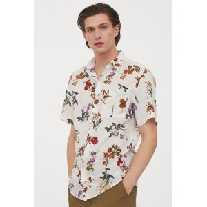 H&MRegular Fit Cotton Shirt