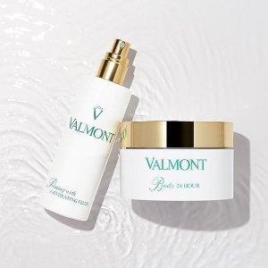 满送价值$253好礼+免邮 任意单送香水小样最后一天:Valmont 护肤热卖 收生命之泉 幸福面膜 享院线级护肤体验